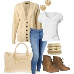 Cute outfit...expensive, but cute idea