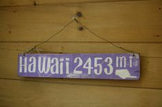 Available on Etsy for $35.00! This handmade wooden sign is painted, sanded to look distressed, and then stained. Reclaimed wood. It measures 18 1/2 inches long, and 3 1/2 inches tall. Two holes are drilled at the top with a wire look so it's ready to hang on your wall.