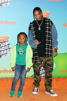 King Cairo and Tyga attends Nickelodeon's 2019 Kids' Choice Awards at Galen Center on March 2019 in Los Angeles, California. Get premium, high resolution news photos at Getty Images Kids Choice Award, Choice Awards, Tyga Style, Tyga Rapper, Marley Twist Hairstyles, Jheri Curl, Ray Stevenson, Wynn Las Vegas, Hanging Hats