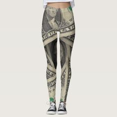 Dollar Money Leggings - original gifts diy cyo customize