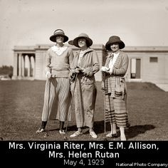 1923 Ladies enjoying golf