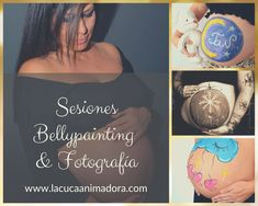 Bellypainting en Barcelona. Sesiones de embarazo. #bellypainting #pregnant