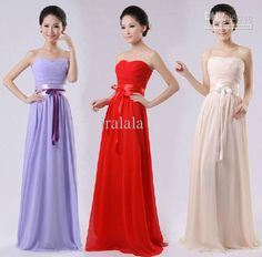 Long Light Purple Chiffon Bridesmaid Party Plus Size Formal Dresses Women Online Under $50 New Fashion 2014 Formal Dress W1000, $28.2 | DHgate.com