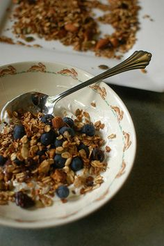 Gluten-Free Homemade Granola by Gluten-Free Girl
