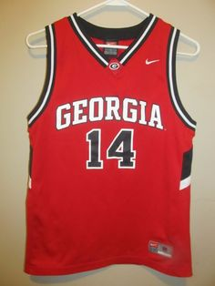 e8fef3642 Nike Georgia Bulldogs Basketball jersey