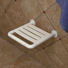 Marion Standard Shower Seat - Off-White
