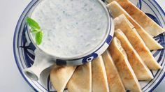 Minted yoghurt | Servethiscreamy Moroccan accompaniment with lamb backstrap instead of a traditional mint sauce. It's an incredibly easy recipe and makes a tasty addition to lamb dishes, or with grilled vegetables for a vegetarian version.