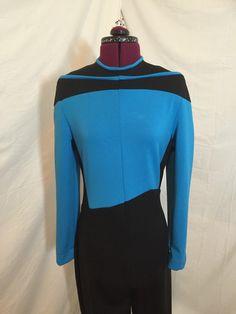 A personal favorite from my Etsy shop https://www.etsy.com/listing/267282378/star-trek-the-next-generation-uniform