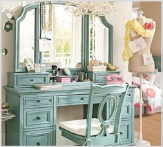 Dressing Table, I could possibly make this easier than the others, nice geometric shapes