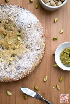 {Cookbook Review}: Sugar and Spice and a Pistachio and Chocolate Cake - Dessert First