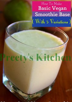 Bananas and silken tofu provide a one-two punch of fiber and protein and gives smoothies dairy-free richness. For thicker smoothies , add mo. Mango Smoothie Healthy, Vegan Smoothies, Mango Sorbet, Mango Lassi, Vegan Snacks, Vegan Recipes, Blueberry Juice, Frozen Cranberries, Special Recipes