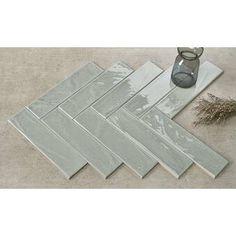 "Walkon Fliesen Mason 3 '' x 12 ""Keramik U-Bahn Fliesen Ceramic Subway Tile, Glass Subway Tile, Mosaic Glass, Mosaic Tiles, Backsplash Tile, Stone Mosaic, Marble Mosaic, Ceramic Coating, Glazed Ceramic"