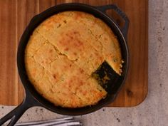 Beer, Bacon and Cheddar Cornbread from CookingChannelTV.com