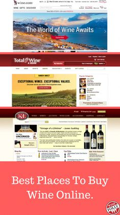 What are the best places to buy wine online? Compare online wine retailers based on selection, pricing, quality, features and site experience. Wine Bottle Labels, Wine Bottle Holders, Gifts For Wine Lovers, Wine Gifts, Wine Puns, Wine Club Membership, Wine Folly, Wine Tasting Events, Buy Wine Online