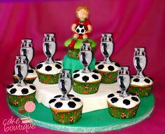 Cupcakes de Campeão  #Euro2016 #Portugal #Campeões #Campeão #Champion #EuropeanChampions #CR7 #Ronaldo #CristianoRonaldo #Seleção