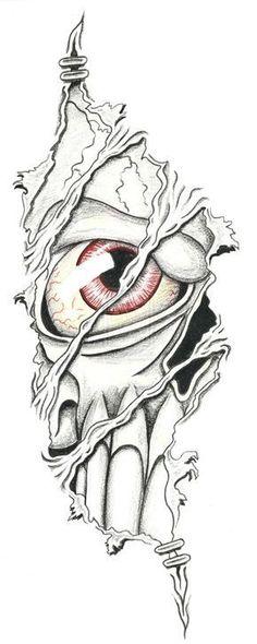 Cool Tattoos for Men Drawings Dark Art Drawings, Pencil Art Drawings, Art Drawings Sketches, Tattoo Sketches, Cool Skull Drawings, Badass Drawings, Evil Skull Tattoo, Skull Tattoos, Body Art Tattoos