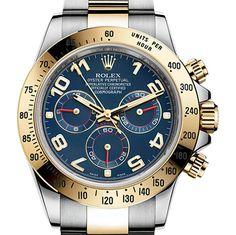 勞力士 (Rolex) [NEW] Cosmograph Daytona Steel and Yellow Gold 116503 blue at HK$96,000. We Also Have Hong Kong Rolex Boutique 888 Stock [香港行貨] For Sale at HK$97,800.