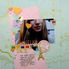 2014/03 scrapbook layout 011 CREATIVE KIT PAPERO AMO 03/14