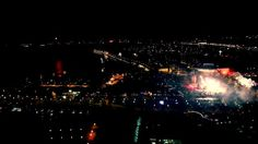 """My amazing hometown - Gdynia and new year s view from Sea Towers tarrace.  Music: M83 - """"Echoes Of Mine"""""""
