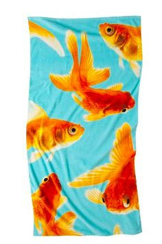 Target Home™ Gold Fish Photo Print Beach Towel - from Target. Kids Sprinkler, Sprinkler Party, Holiday Hotel, Goldfish, Beach Towel, Kids Playing, Crafty, Cool Stuff, Retro