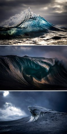 captures the moody ocean at daybreak Australian photographer Ray Collins captures the moody ocean at daybreak.Australian photographer Ray Collins captures the moody ocean at daybreak. Sea And Ocean, Ocean Beach, Ocean Sunset, All Nature, Amazing Nature, Ocean Photography, Landscape Photography, Photography Tips, Wedding Photography