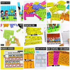 These fun 1st Grade Math activities help students count numbers up to 120 in a hands-on way!