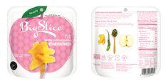 Big Slice-Kettle Cooked Apples — The Dieline - Branding & Packaging