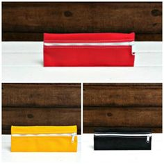 Zip Pouch/Clutch Cotton Canvas Made in USA
