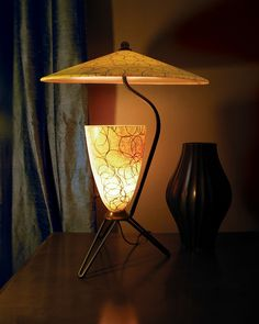 Holy Moses. Love this vintage light!