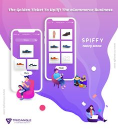 The desire to start an e-Commerce business? Here is the golden ticket to uplift your business- and be unique. The flawless is developed by Trioangle with latest technology Golden Ticket, Business Shoes, E Commerce Business, Latest Technology, Ecommerce, Script, Fancy, Unique, Script Typeface