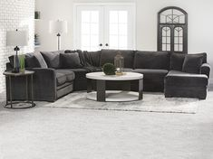 Artemis Sectional with Full Sleeper Sleeper Sectional, Chaise Sofa, Rustic Living Room Furniture, Seat Cushions, Couches, Sofas, Home Furnishings, Love Seat, Design Services