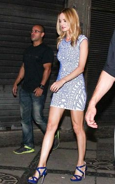 Fabulously Spotted: Heather Graham Wearing ONE by RVN Geo - Night Out In Rio de Janeiro - http://www.becauseiamfabulous.com/2013/05/heather-graham-wearing-one-by-rvn-geo-night-out-in-rio-de-janeiro/