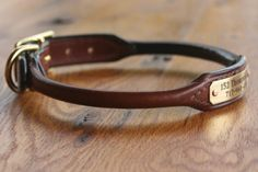 "Rolled Leather Collar - Large (17"" - 19"") on Etsy, $29.00"