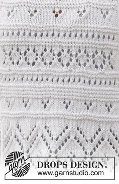 Free knitting instructions Source by Baby Knitting Patterns, Lace Patterns, Lace Knitting, Knitting Stitches, Knitting Designs, Stitch Patterns, Drops Design, Big Knit Blanket, Knitted Blankets
