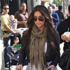 779147af0b0 Kim Kardashian in Dita Sunglasses