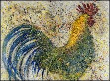 Gallo. Rooster Contemporary Artist