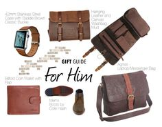 """""""Gift Guide - For Him"""" by ashwood-london on Polyvore featuring Cole Haan"""