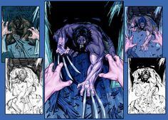 Wolverine cover by diablo2003 on DeviantArt