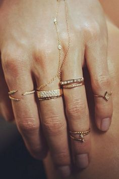 Layered rings (Can't get enough of 'em!)