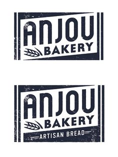 Anjou Bakery logo by super_furry, via Flickr