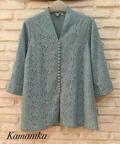 Ideas for dress brokat big size Kebaya Modern Hijab, Dress Brokat Modern, Model Kebaya Modern, Kebaya Hijab, Kebaya Muslim, Kebaya Lace, Kebaya Dress, Batik Kebaya, Blouse Batik