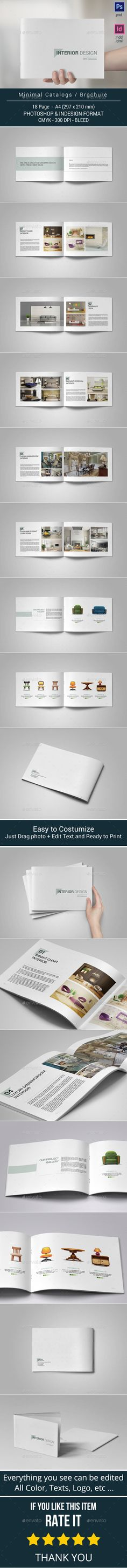 Multipurpose Catalogs / Brochure / Portfolio — Photoshop PSD #template #grey • Available here → https://graphicriver.net/item/multipurpose-catalogs-brochure-portfolio/10402343?ref=pxcr