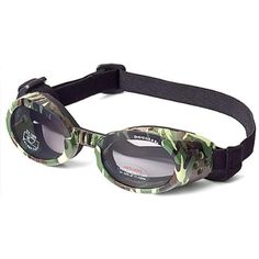 6c40cebc04 Doggles ILS X-Small Green Camo Frame and Smoke Lens   Learn more by visiting