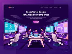 Plainthing Studio - Exceptional Design for Ambitious Companies by ahmad sulaiman Adobe Xd, Landing Page Design, Web Design Inspiration, Design Agency, Studio, Header, Illustrations, Website, Studios