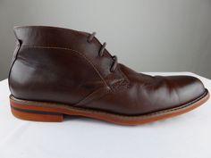 Florsheim Doon Chukka Distressed Desert Boot Leather Brown Shoe Men 11.5 $120 #Florsheim #DesertBoots