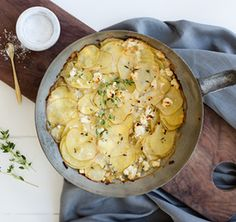 This lusciously simple, French-inspired method of slow cooking in milk elevates the humble potato above the everyday.