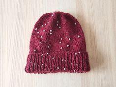 Hello November hat - free knitting pattern - beanie Hello November muts - gratis breipatroon