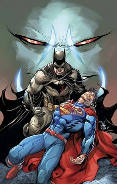 """As you can see, these two iconic characters of DC are some of the greatest characters in comic history. So I want to become good enough in my endeavors that I can compete on the same plane as these characters and create something that can withstand time. This falls under the """"Master"""" topic."""