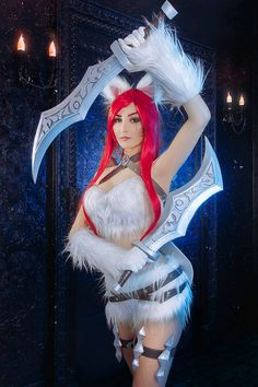 SALE Cosplay League of Legends Katarina Kitty Cat