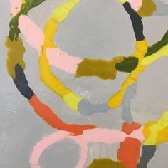 Detail of recent painting Cha Cha